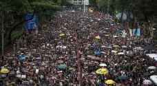 المتظاهرون في هونغ كونغ يعودون إلى الشارع