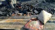 الدفاع المدني يكشف أعمار المتوفين الـ 13 بفاجعة حريق الشونة الجنوبية.. فيديو