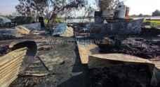 الدفاع المدني يصدر نتائج التحقيقات في فاجعة حريق الشونة الجنوبية