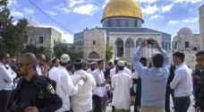 عشرات المستوطنين يجددون اقتحامهم المسجد الاقصى المبارك