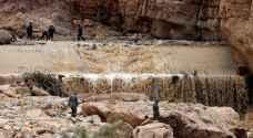 طقس العرب: أمطار غزيرة على البحر الميت ومأدبا ووادي ماعين عصر الاثنين