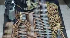 ضبط كميات كبيرة من الذخيرة الحية اثناء حملة أمنية في الرويشد