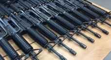 مجهولون يسرقون 31 بندقية  نوع M16 من معسكر  للاحتلال