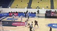 الوحدات يتغلب على الأهلي في دوري السلة
