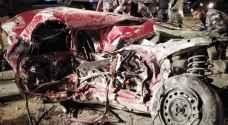 3 وفيات وإصابة بحادث سير مروع في منطقة زيزيا - صور