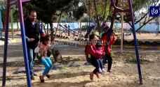 """""""بهجة"""".. مبادرة شبابية لتوفير مساحات آمنة للأطفال للعب في الرمثا - فيديو"""