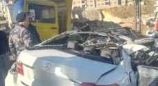 حادث تصادم مروع في عمان.. صور