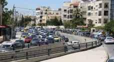 أزمة سير في بعض شوارع العاصمة عمان صباح الخميس.. فيديو وخرائط