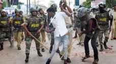 صدامات جديدة بين متظاهرين والشرطة في الهند