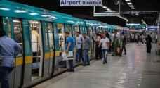 """مصر تعلن رسميا """"أرقام مترو الأنفاق"""" بعد 30 عاما"""