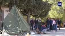 فلسطين.. اعتصام طلابي يغلق أبواب جامعة بيرزيت (فيديو)