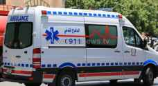5 اصابات بحادث تصادم في معان