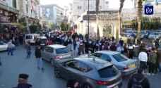 مسيرة وسلسلة بشرية دعما للأسرى في سجون الاحتلال.. فيديو