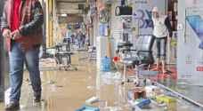 الأمانة تحذر التجار في المناطق المنخفضة من تخزين البضائع في المستودعات