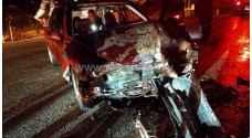 5 إصابات بحادث سير على طريق طريق اشتفينا في عجلون