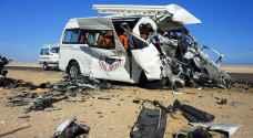 22 وفاة بحادث سير مروع في مصر