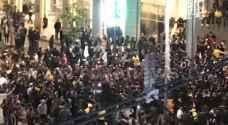 حشود كبيرة في بوليفارد العبدلي للإحتفال برأس السنة - صور