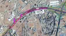 الاشغال: تحويلات ضمن مشروع الباص السريع بين عمان والزرقاء