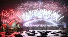 شاهد بالفيديو كيف احتفل العالم بالعام الجديد 2020