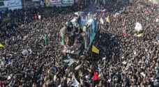 عشرات القتلى إثر تدافع خلال تشييع جثمان سليماني في إيران
