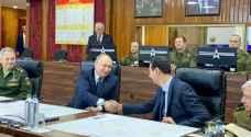"""بوتين في سوريا.. ويشيد بتقدمها """"الهائل"""""""