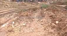 انهيارات بفعل مياه الأمطار في منطقة القويسمة.. فيديو
