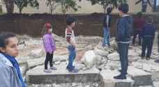خبير يبرئ وزارة التربية من مسؤولية انهيار مدرسة كفر راكب - فيديو