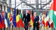 رئيس المجلس الأوروبي يحي قيادة الملك عبد الله الثاني في المنطقة