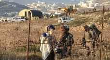 استنفار المستوطنين بعد هدم منزلين لهما قرب نابلس