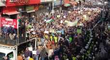 الامن يمنع المتظاهرين في وسط البلد من الوصول الى ساحة النخيل.. فيديو