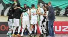الوحدات يحقق الفوز على الارثوذكسي في اولى مباريات نهائي دوري السلة