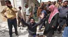 مجزرة بحق عائلة سورية في غارة روسية