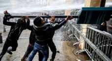 عشرات المصابين خلال مواجهات بين قوات الأمن والمتظاهرين في وسط بيروت