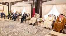 أمير قطر يستقبل وزير الداخلية