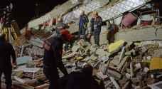 ارتفاع حصيلة قتلى زلزال تركيا