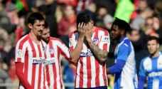 اتلتيكو مدريد يتابع عروضه المخيبة