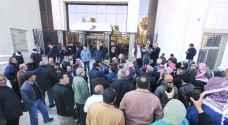 متقاعدوا الضمان ينفذون وقفة احتجاجية.. فيديو