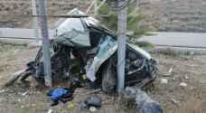 حادث مؤلم جدا .. وفاة طفل و 3 اصابات على طريق عمان / اربد - صور