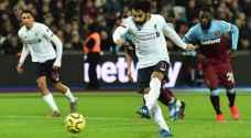 صلاح يقود ليفربول الى الابتعاد 19 نقطة في الدوري الإنكليزي