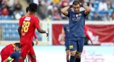 النصر يتعادل مع متذيل ترتيب الدوري السعودي