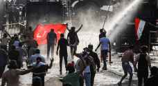 جرحى في بغداد بمواجهات متظاهرين مع قوات الأمن العراقية