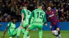 ميسي يقود برشلونة لاجتياح ليجانيس