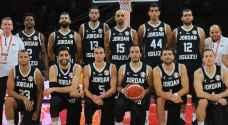 المنتخب الوطني لكرة السلة يباشر تدريباته استعداداً لكأس أسيا
