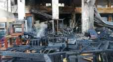 """""""تفاصيل جديدة"""".. المبنى الذي اندلع به الحريق في وسط البلد يعود لأمانة عمّان.. صور وفيديو"""