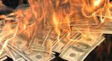 كندي يعاقب طليقته بحرق مليون دولار