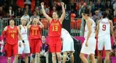 سيدات الصين يحجزنا بطاقة التأهل لمسابقة السلة باولمبياد طوكيو