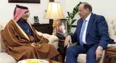 وزير الداخلية سلامة حماد يشكر دعم قطر الدائم للأردن