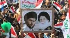 آلاف من مناصري الصدر يتظاهرون دعما له في العراق