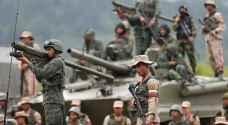 قوات فنزويلية تحتشد بالقرب من حدود كولومبيا