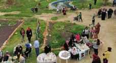 مهرجان الخبيزة يجمع الأردنيين والفلسطينيين بعيد الحب في الشونة